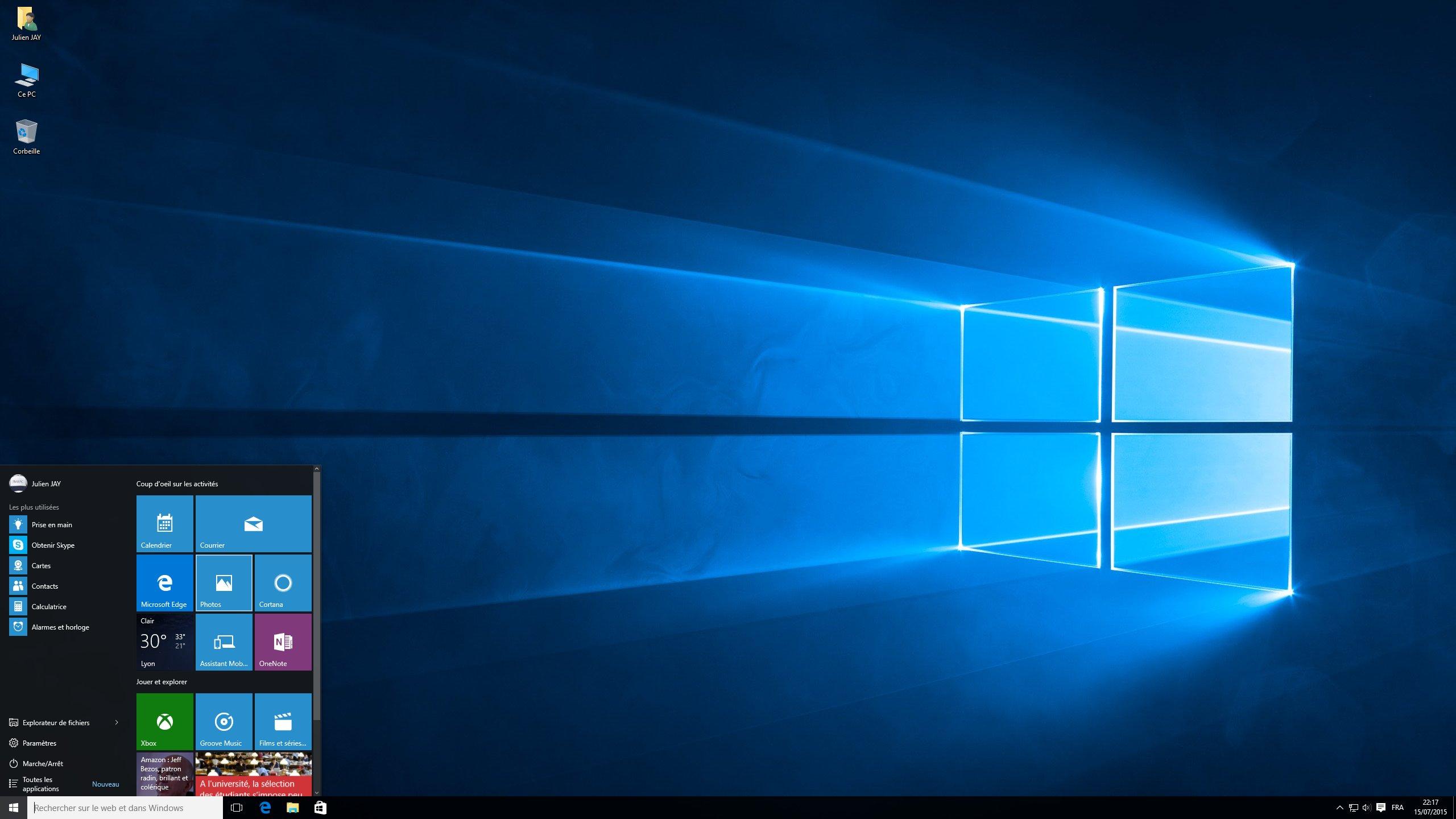 Bug Windows 10 Toulouse